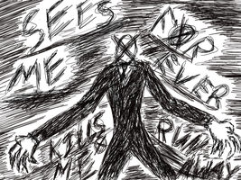 Slender Man by DemonsAreOurFriends