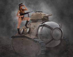 Tank Girl Tracy by tonyc-art