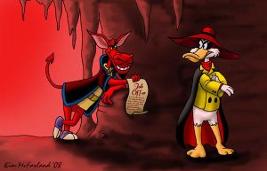 Death as a Career Move by Negaduck9