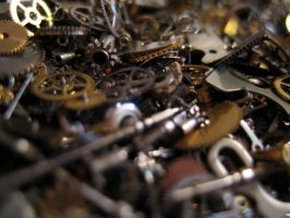 Gears cogs clockwork No.2 by redrockstock