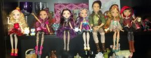 My Ever After High Collection 2-3-14 by Bowser14456