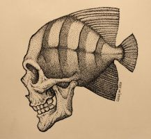 Fish-death by Hands-hooks