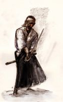 Patsu and the Way of the Katana... by BlueMillenium