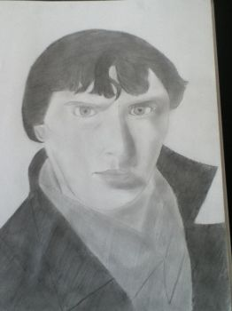 Benedict Cumberbatch by demturkeys