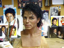 michael Jackson 1980's wax by sonyavasquez