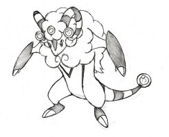 Project Fakemon: Batteram by XXD17