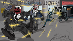 Payday 2: Boom's commission, 'Run to the hills!' by Nicolas-SW