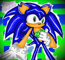 Sonic the hedgehog by xX-SuperSonic-Xx
