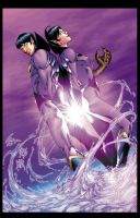 Wonder Twins by wrathofkhan