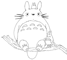 Totoro and Buddies by DigiFoxCat