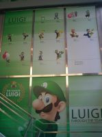 Luigi 30th at Nintendo World 06 by MarioSimpson1