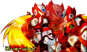 Zero sig from Rockman X series by Riverwind77