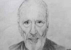 Christopher Lee by ShadowDreamer1