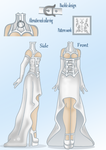 Wedding Dress design by Tilly-Monster by l8xbrb2