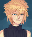 Serious Cloud by Shangrilfangirl
