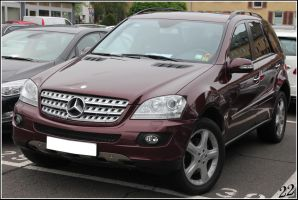 Mercedes ML by 22photo