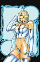 Emma Frost by teamzoth - color by TraitorLegion