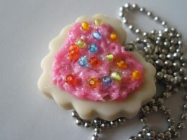Sugar Cookie Necklace by ChibiWorks
