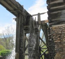 WATER WHEEL by uncledave