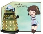 You will be exterminated! by Alas-De-Metal