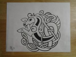 Celtic Horse by lizzyj2217