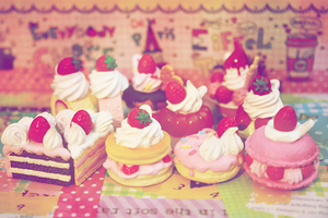 kawaii sweets by cyristine