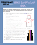 TWEWY Neku Sakuraba : Shirt Tutorial by ChibiMitarashi
