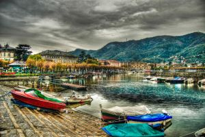 Como Lake 2 - HDR by Ageel