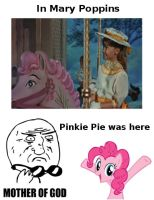 Pinkie Pie... in Mary Poppins ?! by Kimi-Thunder