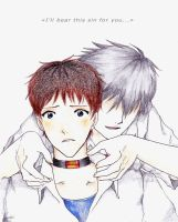 This sin - Kaworu x Shinji by EriKooriKo