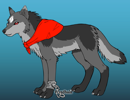 Fursona: Bandit by shadowraiwolf09