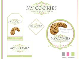 my cookis logo by manoolita