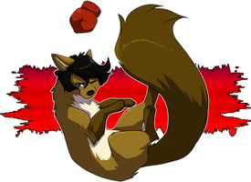 The Marten in Red by Tinnypants
