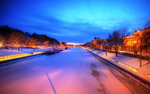 Turku by Night by lucat25