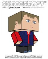 Cubeecraft - Rory Williams by CyberDrone