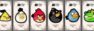 angry birds keybies by silverei