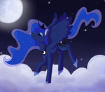 Princess Luna by Miss-Racco0n