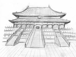 Forbidden City China 2006 by elodie50a
