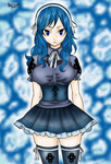 Juvia Lockser from Fairy Tail by MarthaTheBarbarian