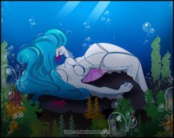 TMNT OC :: Under the sea:: by Inner-D