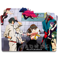 Gatchaman Crowds Icon by mikorin-chan