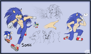 Sonic Reference is Sonic by SiscoCentral1915