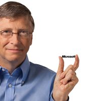 Bill Gates Microsoft by qimoo