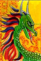 Dragon ACEO by Lucky978