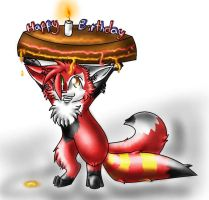 That's a rly BIG cake by Nine-tailed-FireFox