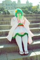 Macross Frontier - Waiting the moment by CherryMemories