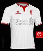 LFC Away shirt 2014/15 Concept by kitster29