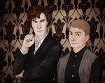 Submission for Let's Draw Sherlock project by Poralizer