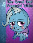 The Great And Powerful Trixie Chibi by Djatomica2