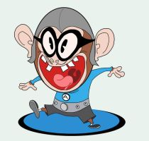 Monkey boy Aquabat by Makinita